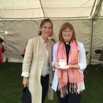 Revd Karen with our local MP Tania Mathias