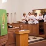 Choir getting reading