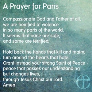 Prayer issued by the Church of England