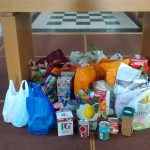 Our food collection for Richmond Food Bank